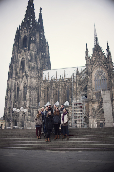 FHU students in Cologne