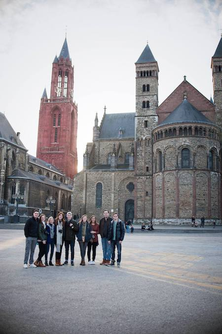 FHU students in Maastricht