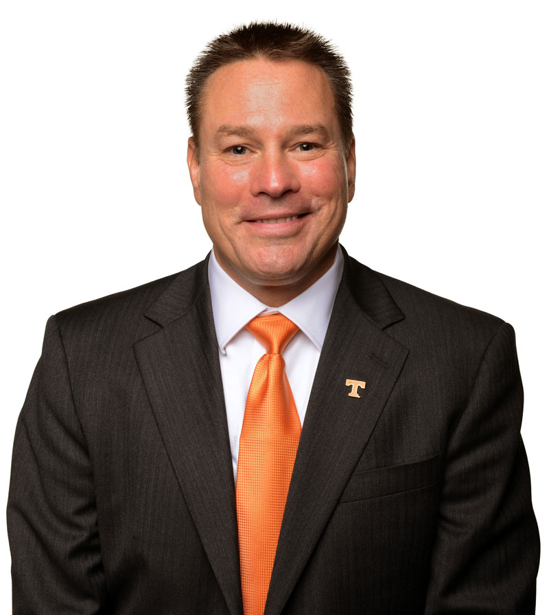 Butch Jones, head football coach of the University of Tennessee Volunteers