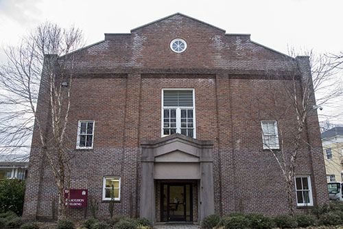 An open house and reception are planned for the recently renovated Draughon Center, now home to the Department of Music.