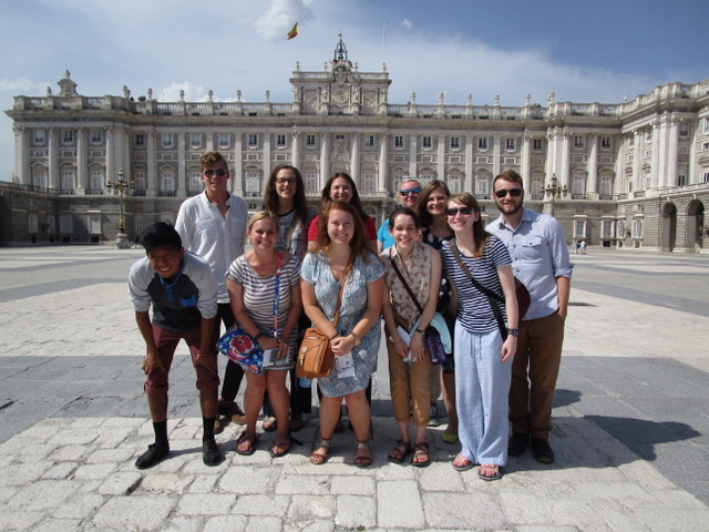 Group photo in Madrid