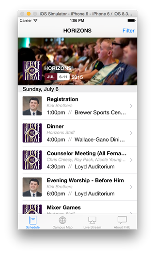 FHU Events