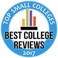 Best College Reviews Badge 2017 - 2018