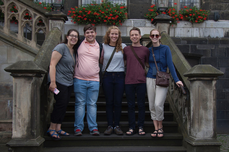 FHU students in Maastricht, Netherlands