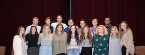 FHU students have chosen the 2019 Homecoming royalty. The king and queen will be announced Saturday at the ball game.