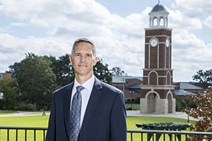 Capt. Stewart Brackin begins his duties as director of FHU Office of Safety and Security Oct. 9.