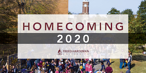 FHU has announced the cancellation of Homecoming festivities for 2020.