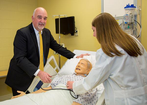 Robert Spencer, director of FHU / Dickson Nursing