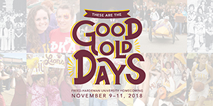 """Freed-Hardeman alumni and friends are invited to campus Nov. 9-11 to remember the """"Good Old Days."""""""