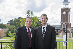 Dr. Billy Smith (left) and Dr. Mark Blackwelder (right)