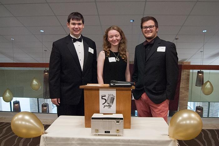 Current Staff Members-Jesse Forkum, Alyssa Blakeney, and Nate Lewis