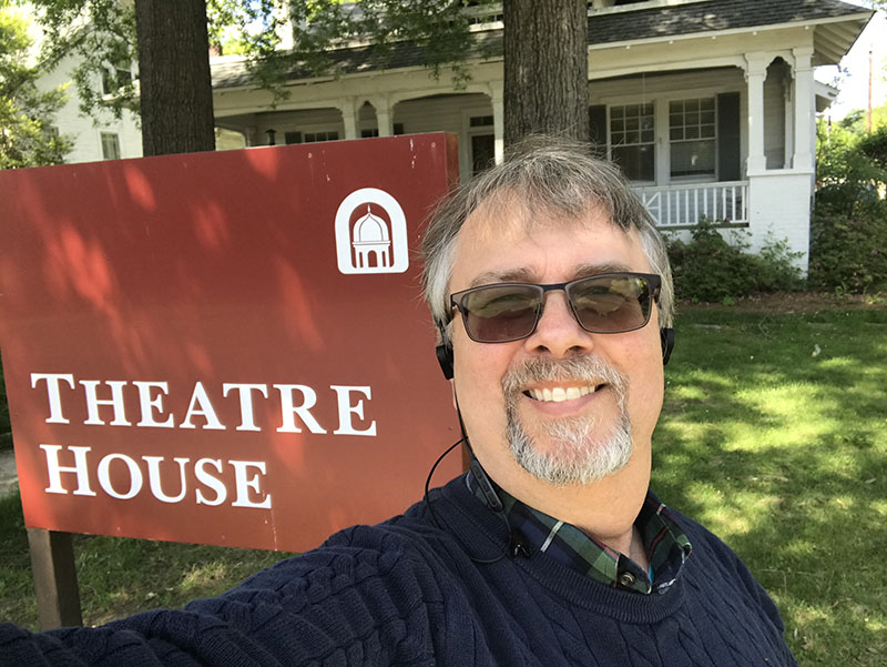 Me and the Theatre House